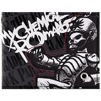 My Chemical Romance Parade Rock ID & carte Bi-Fold Wallet