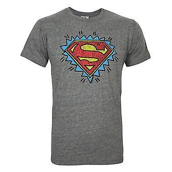 Junk Food Superman Logo Men-apos;s T-Shirt