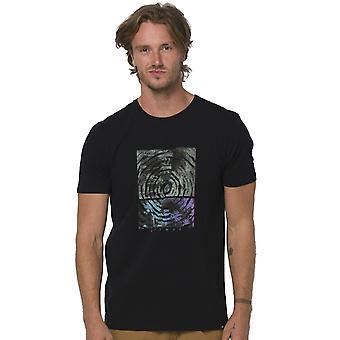 Animal Imprint T-Shirt z krótkim rękawem w kolorze czarnym