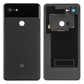Google Battery Cover for Pixel 3 XL Black Just Black Battery Cover Spare Part Backcover Lid Battery