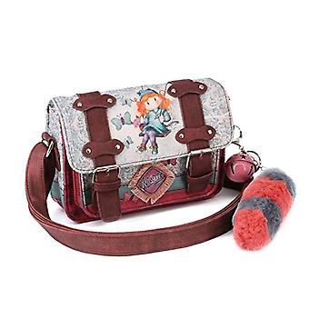 Forever Ninette Ninette Swing-Satchel Schultertasche Messenger Bag 20 cm Multicolor (Multicolour)