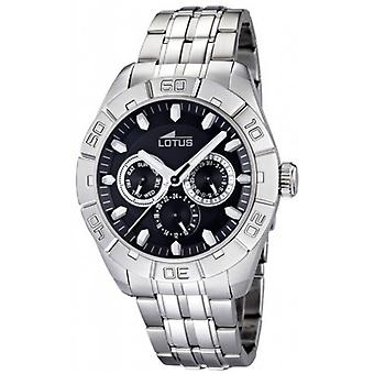 Lotus watches Quartz Analog Man Watch with 15814/F Stainless Steel Bracelet