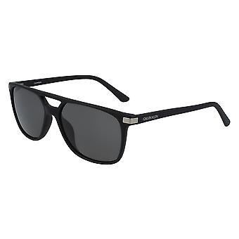 Calvin Klein CK19526S 001 Matte Black/Grey Sunglasses