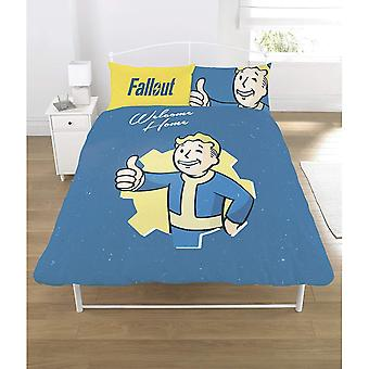 Fallout Vault Boy Reversible Duvet Set