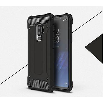 Saker certifierade® Samsung Galaxy S9 - Armor Case Cover Cas TPU Mål Svart