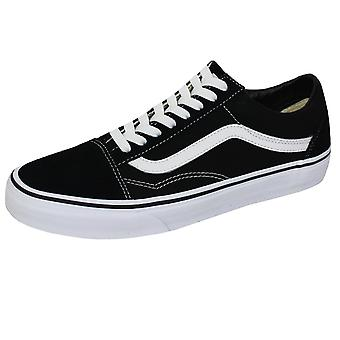 Vans old skool black and white trainers