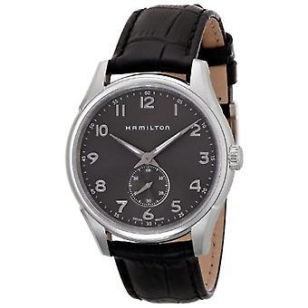Man horloge-Hamilton H38411783, wijzerplaat kleur: donker grijs