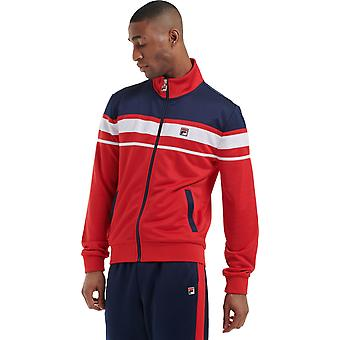 Fila Gordon Colorblock Track Jacket Red 04