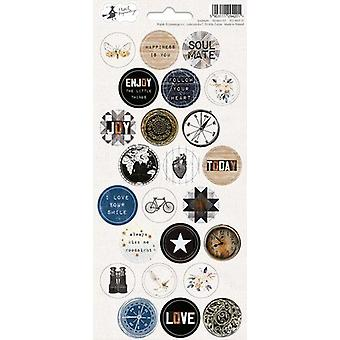 Piatek13 - Sticker vel Soulmate 03 P13-MAT-13 10,5x23 cm