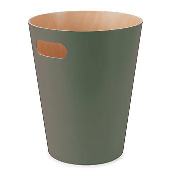Umbra Woodrow Can Bin In Spruce
