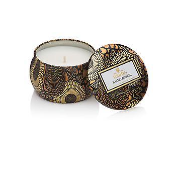 Voluspa Decorative Tin Candle Baltic Amber 113g