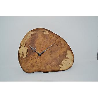 Wooden wall clock wooden clock, mountain maple maple 27x25 cm wall clock wood decoration wood decoration decoration gift gift idea unique handmade Made in Austria