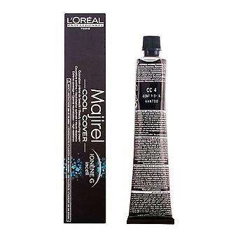 Permanent Dye Majirel Cool-acoperi L & Oreal Expert Professionnel Châtain