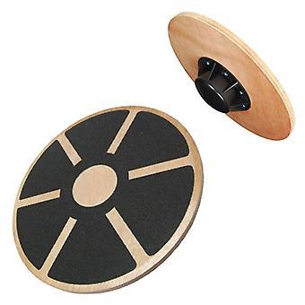 Kabalo Fitness træ Wobble Balance Board rehabilitering Motion Fitness Gym (skridsikker overflade og 180kg max belastning)