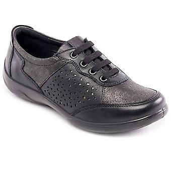 Padders Harp Womens Casual Lace Up Shoes