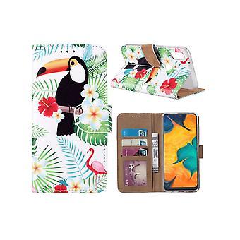 FONU Bookcase Hoesje Camoprint Samsung Galaxy A40 (SM-A405)