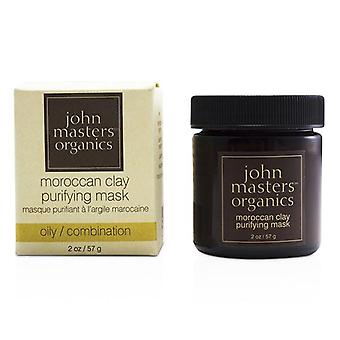 Moroccan Clay Purifying Mask (for Oily/ Combination Skin) - 57g/2oz
