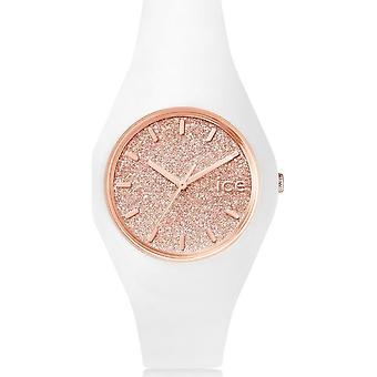 Ice Watch Watch Unisex ICE scintille White Rose-Gold Medium 001350