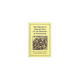 Det avhandling av Lorenzo Valla på Donation av Constantine (Renaissance Society of America reprint texter)
