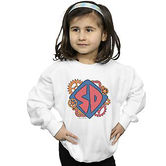 Scoob! Girls Dog Tag Cogs Sweatshirt
