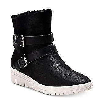 American Rag Women's Katerina Almond Toe Ankle Cold Weather Boots (Zwart, Siz...