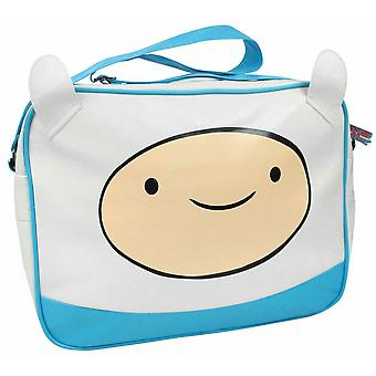 Kids Character White Faux Leather Shoulder Strap Messenger Bag