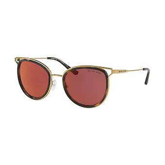Michael Kors Havana Ladies Sunglasses -MK1025 1204D0 - Gold