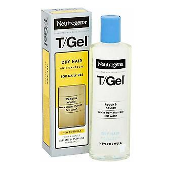 Neutrogena T Gel Anti Dandruff Shampoo 125ml Dry Hair Daily Use New Formula