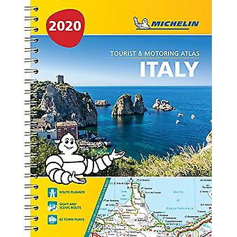 Italy - Tourist and Motoring Atlas 2020 (A4-Spiral) - Tourist & Mo