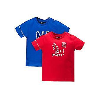 Brums Milano 2 Jersey T Shirt Set Red & Blue