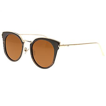 Earth Wood Karekare Polarized Sunglasses - Espresso/Brown