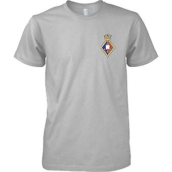 HMS Oxford - Royal Navy Shore vestiging T-Shirt kleur