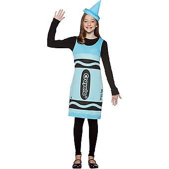 Costume bleu Crayola Teen