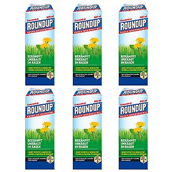 Sparset: 6 x ROUNDUP® Lawn Weed-Free, 500 ml