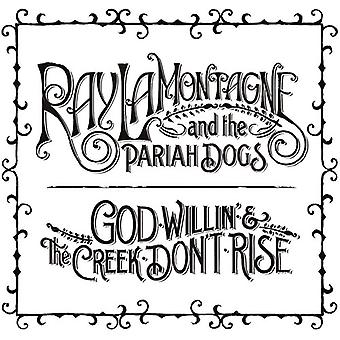 Ray Lamontagne & the Pariah Dogs - God Willin' & the Creek Don't Rise [CD] USA import