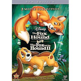 Fox & the Hound/Fox & the Hound 2 [DVD] USA import