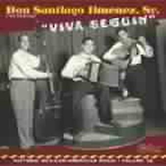 Don Santiago Jimenez - Viva Seguin-Historic Mexican-American [CD] USA import