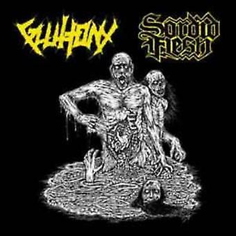 Gluttony / Sordid Flesh - Gluttony / Sordid Flesh Split [CD] USA import