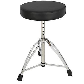 Cohete doble arriostradas tambor taburete / trono - cromo