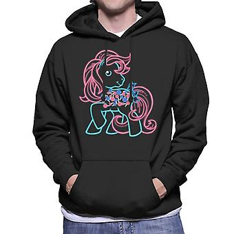 My Little Pony Lollipop Neon Men's Hooded Sweatshirt