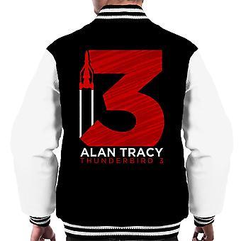 Thunderbirds Large 3 Graphic Men's Varsity Jacket