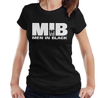 Men In Black MIB Logo Women's T-Shirt