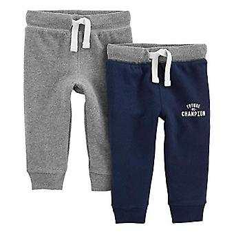 Simple Ilot Carter' s Pojat' 2-Pack Athletic Knit Jogger Housut, Charcoal Gra ...