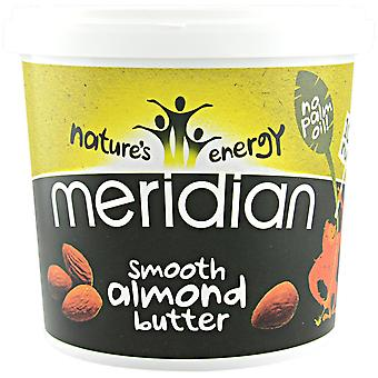 Meridian Foods Smooth almond butter 1x1000 gr