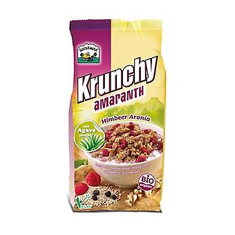 Krunchy amaranth - amaranth granola with raspberries and chokeberry 375 g
