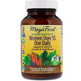 MegaFood, Women Over 55 One Daily, 60 Tablets