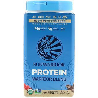 Sunwarrior, Warrior Blend Protein, Organic Plant-Based, Mokka, 1.65 lb (750 g) Sunwarrior, Warrior Blend Protein, Organic Plant-Based, Mocha, 1.65 lb (750 g) Sunwarrior, Warrior Blend Protein, Organic Plant-Based, Mocha, 1.65 lb (750 g) Sunwar