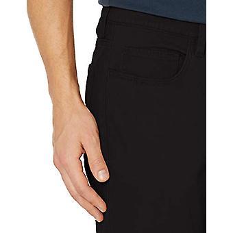 Goodthreads Men's Skinny-Fit 5-Pocket Chino, Black 32W x 32L