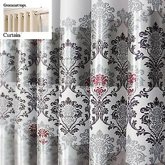 Curtains For Windows - Modern Elegant Noble Printed Shade Curtain