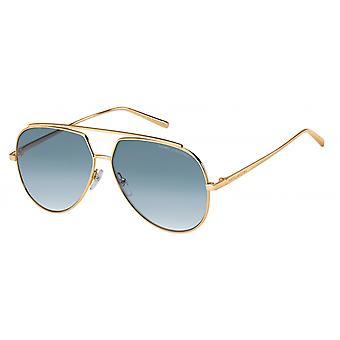 Sunglasses Women's Pilot gold/blue